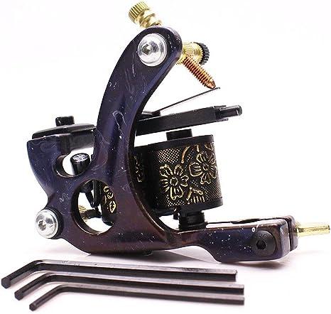 HYWSJ máquina de Tatuaje para fundición de Color, 10 bobinas ...