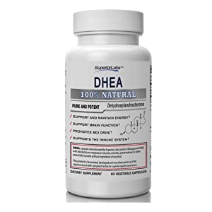 Superior Labs DHEA Vegetable Capsules