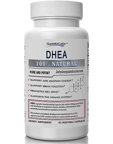 Superior Labs – Extra Strength Natural DHEA – Non-GMO 100 mg Dose, 60