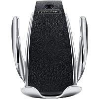Akıllı Sensörlü Wifi Araç Şarjı ve Araç İçi Telefon Tutucu - Car Wireless Charger - Model No S5