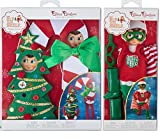 The Elf on the Shelf Claus Couture Clothing Collection Scout Elf Super Hero and Ha Ha Holiday Costumes
