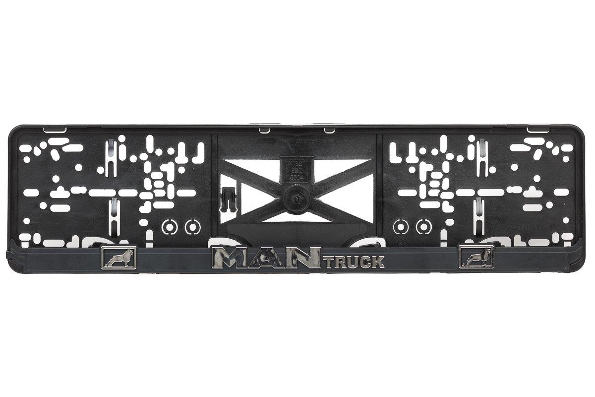 MAN Truck 3D Effekt Lizenz Kennzeichenhalter Nummernschildhalter