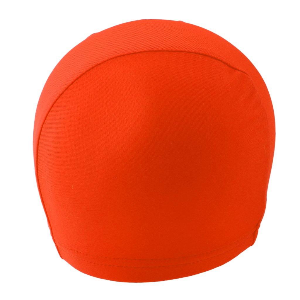 dolity汗発散スカルキャップ、ビーニーヘルメットライナーHeadgearヘッドwrap-breathableスポーツ汗止めバンドヘッドウェア、入浴シャワーSwim Hat  オレンジ B07DGH4YZX
