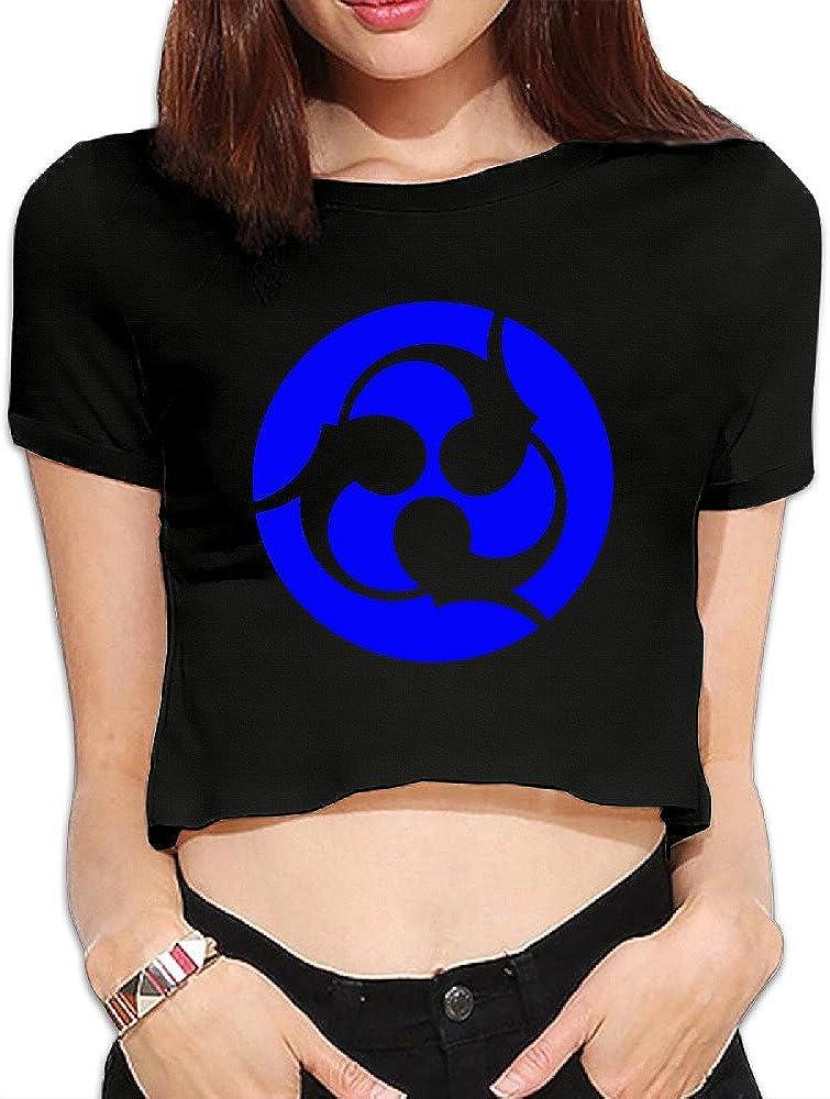 TLK Custom Women Trivium Band Logo Crop Top