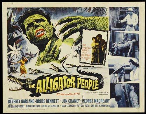 The Alligator People Poster Movie C 11x17 Beverly Garland Bruce Bennett Lon Chaney George Macready - Bennett Alligator