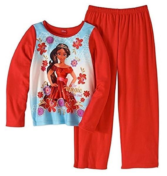 e294949066 Amazon.com  AME Elena of Avalor Girls  2 Piece Flannel Pajama Set ...