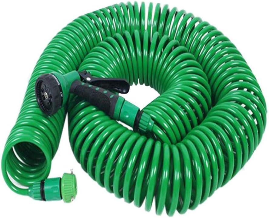 Ahomi Pistola de riego Extensible para Manguera de jardín Pistola para riego de césped de automóviles (L): Amazon.es: Jardín