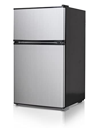midea whd125fss1 compact black with stainless steel doors 34 cu