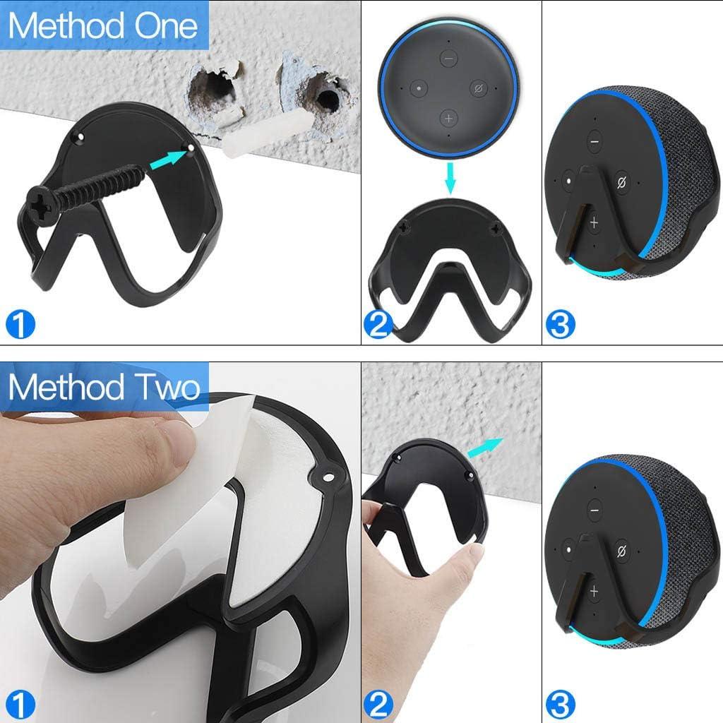 Speakers Support 3rd Gen sharprepublic Wall Mount Stand Holder Rack for Alexa Echo Dot