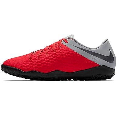 outlet store 09a02 06608 Amazon.com: Nike Hypervenom 3 Academy TF-Crimson/Grey 12 ...