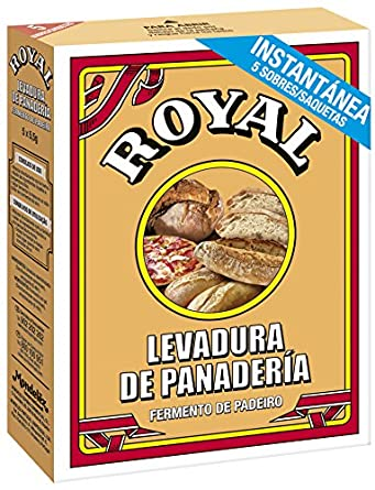 Royal - Levadura En Polvo, 5 sobres, 27.5 g: Amazon.es ...