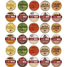 30 Cup Cake Boss® & Guy Fieri® Flavored Coffee Sampler! 10 Unique! New Flavors! Chocolate Cannoli, Italian Rum Cake, Hot Fudge Brownie, Bananas Foster+