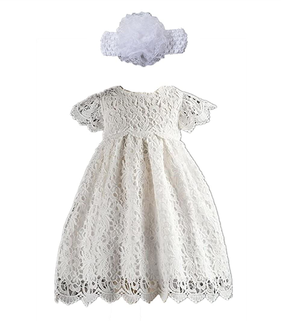 540ab605698d5 Amazon.com: H.X Baby Girl's White Lace Special Occasion Dresses ...