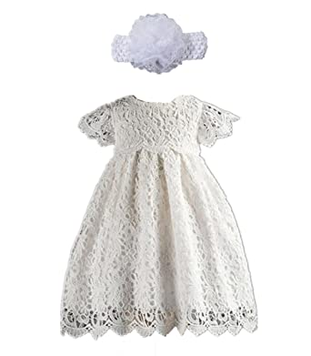 Amazon Com H X Baby Girl S White Lace Special Occasion Dresses
