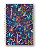 Studio Oh! Hardcover Spiral Notebook Available in 9 Different Designs, Justina Blakeney Agave