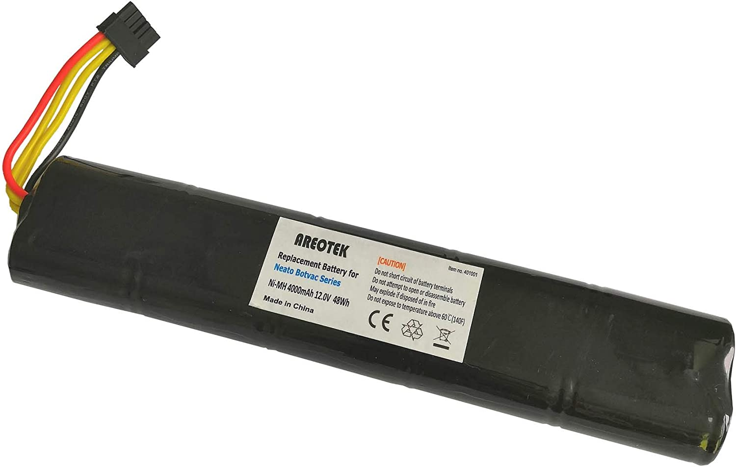 Areotek 12V 4000mAh Replacement Battery for Neato Botvac D80 80 D85 D75 70e 85 75 Robot Vacuum Cleaner Compatible with Part 945-0129 945-0174