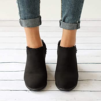 WOMENS LADIES CHELSEA ANKLE BOOTS STUDDED LOW CUBAN HEEL COMFY SHOES SIZE UK