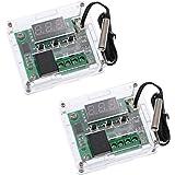HiLetgo 2pcs W1209 with Case 12V DC Digital Temperature Controller Board Micro Digital Thermostat -50-110°C Electronic…