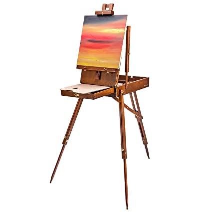 amazon com bianyo traveling french style wooden art easel