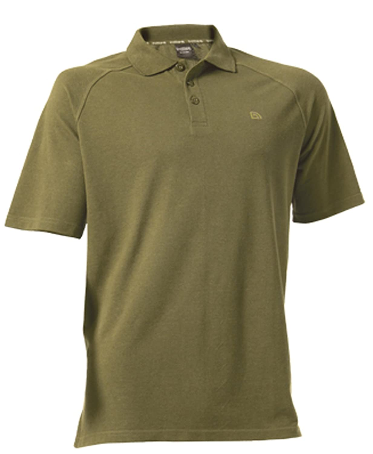 45ed9fa8ec1 Polo Shirt in Olive Green Colour - Large by Trakker  Amazon.co.uk  Sports    Outdoors