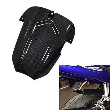 Guardabarros Trasero guardabarros trasero accesorios Para Yamaha YZF R6 2003-2005 (Carbón): Amazon.es: Coche y moto