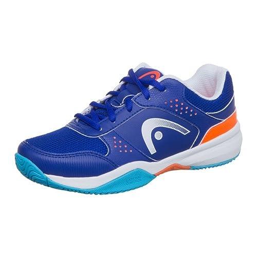 Head Lazer Jnr BLSO - Zapatillas de Tenis Infantil, Color Orange, Talla EU 40