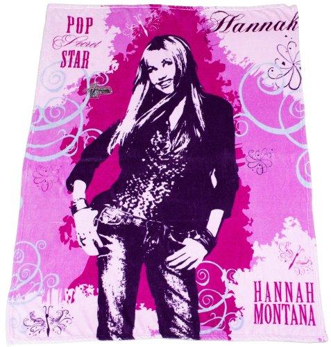 Hannah Montana LED 50x60 Throw (Montana Hannah Blanket)