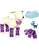 Pet Dog Leg Socks DZT1968 Cute Warm Dog Non-slip Pet Leg Warmers Warm