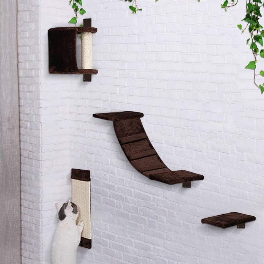 AVEEN Cat Bridge Wall-Mounted Lounging Set
