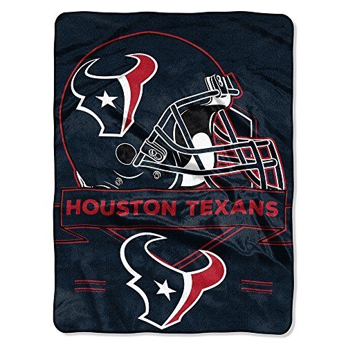 Northwest 0807 Houston Texans NFL Royal Plush Raschel (Prestige Series)