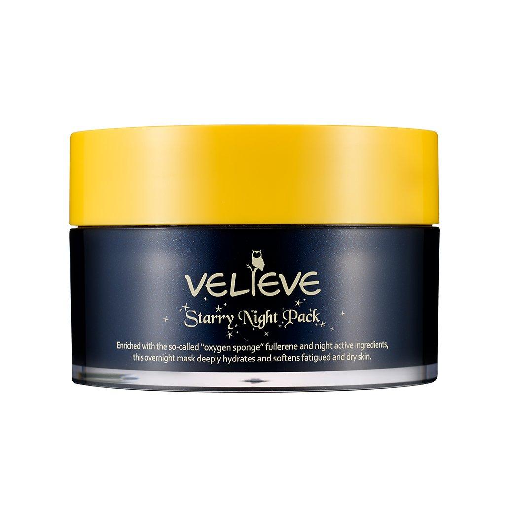 Amazon com: [VELIEVE] Starry Night Pack 100ml - Night Facial