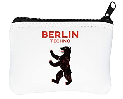 Berlin Techno Grizzlie Billetera con Cremallera Monedero ...