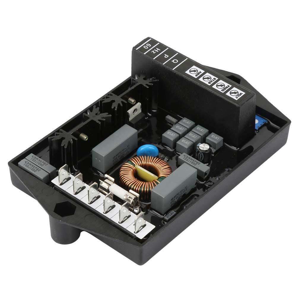 M16FA655A Automatic Voltage Regulator Electric Stabilizer Generator Accessories,Mark V Type Voltage Regulator for Marelli Motor Make DC 30V Automatic Voltage Regulator MJB Series
