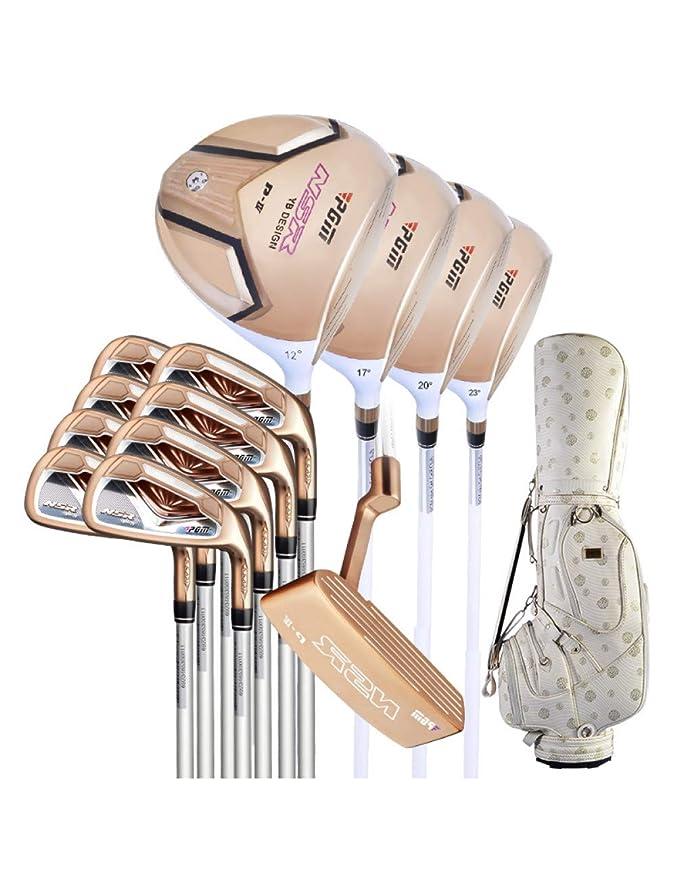 HDPP Club De Golf Sets De Palos De Golf para Mujeres con ...