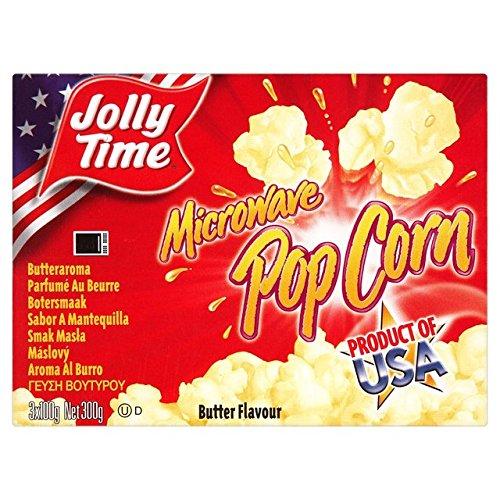 Jollytime Microondas mantequilla palomitas 300 g: Amazon.es ...