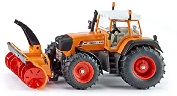 Siku Farmer 3660 Traktor mit Schneefräse Modell 1:32