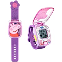 VTech Peppa Pig Learning Watch, Great Gift for Kids, Toddlers, Toy for Boys and Girls, Ages 3, 4, 5, 6