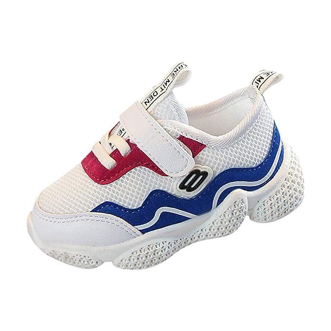YanHoo Niños Bebé Niñas Niños Malla Petchwork Correr Deporte Zapatilla de Deporte Zapatos Ocasionales: Amazon.es: Ropa y accesorios