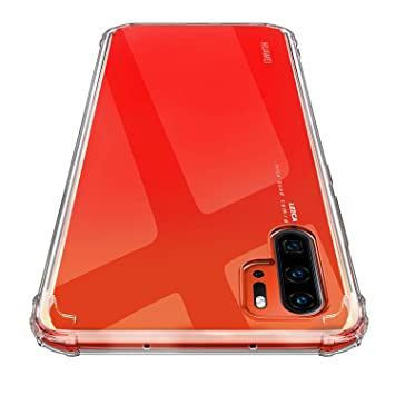 AINOYA Funda Carcasa Gel para Huawei P30 Pro, Ultra Fina, Soft TPU de Impactos y Anti-Arañazos Espalda Case Cover para Huawei P30 Pro - Transparente