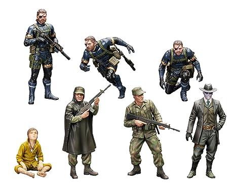 Metal Gear Solid V Figuras Plastic Model Kit 1/35 Metal Gear Solid Ground Zero Set 5 cm