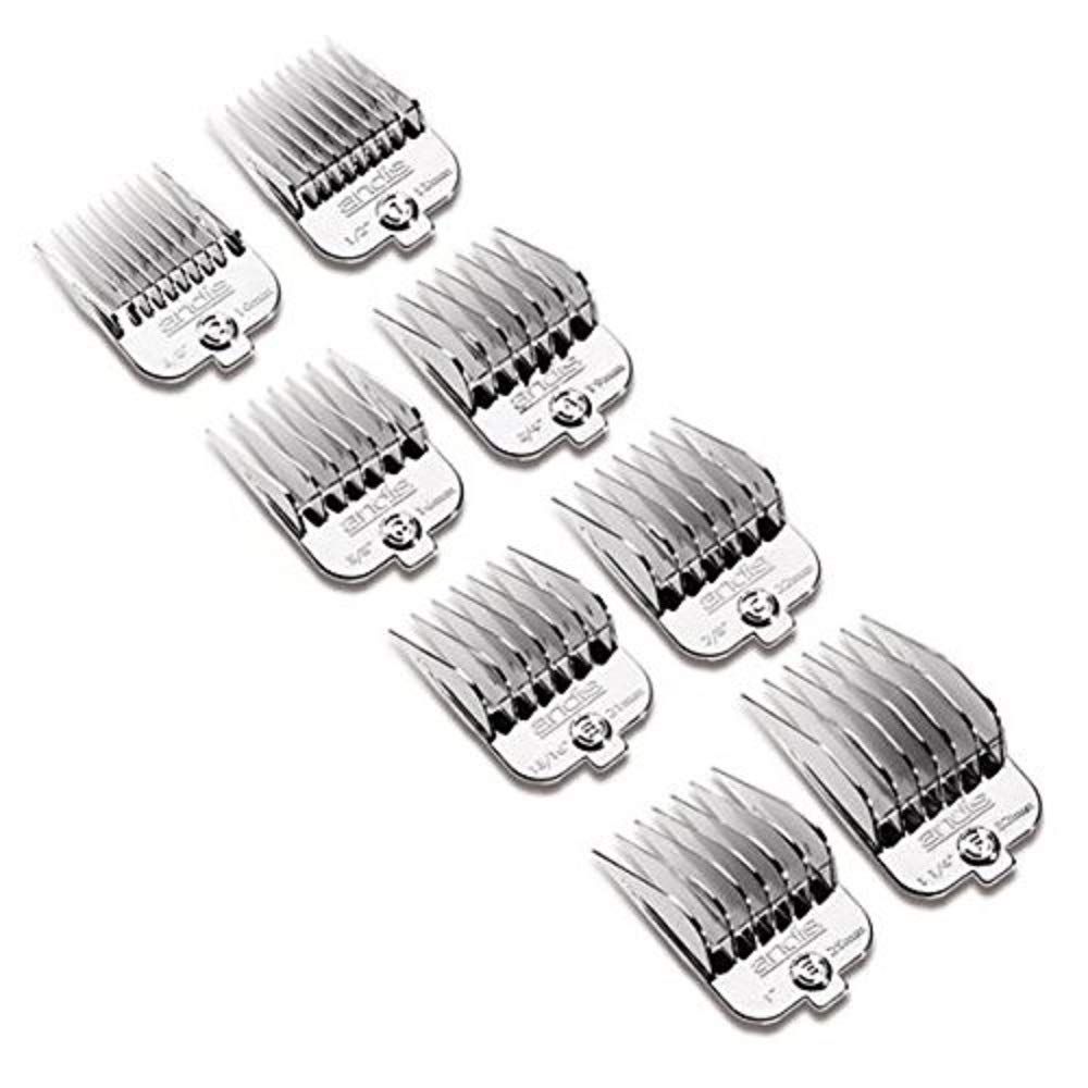 Andis Chrome Universal Snap-On Comb Set
