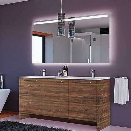 . Amazon com  MARE COLLECTION Benna 63  inch Matte Walnut Double Sink