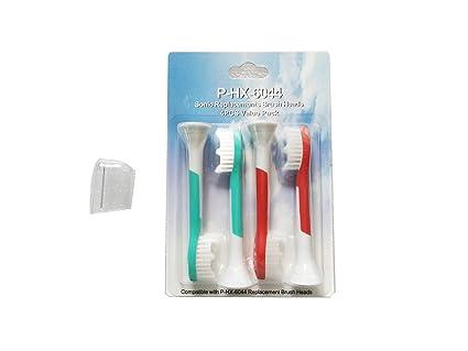 NJYTouch 8pcs KIDS Childs eléctrico dirige Cepillo de dientes por Philips Sonicare HX6044, cabezas de