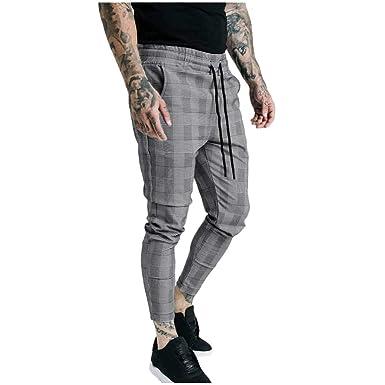 VPASS Pantalones para Hombre, Chándal de Hombres Impresión a ...
