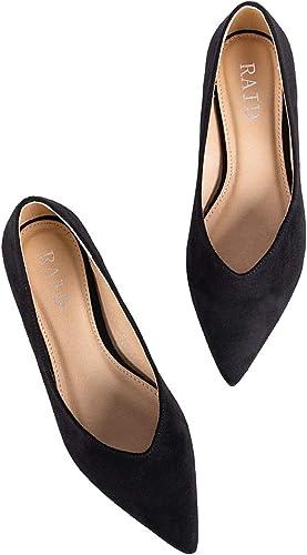 RAID Women's Agatha Flat Shoes Suede