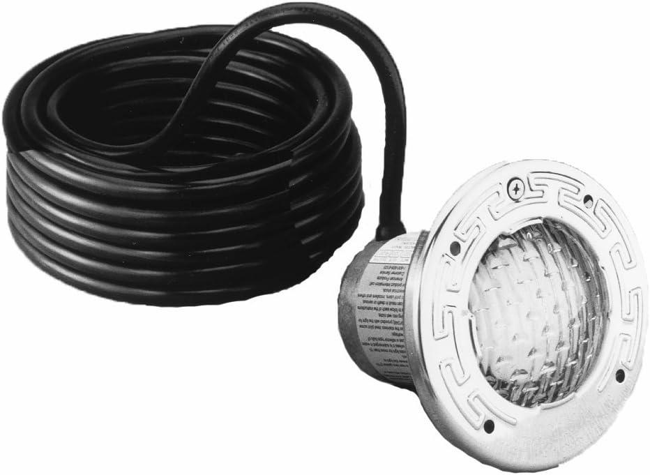 Pentair 78107500 Stainless Steel SpaBrite Incandescent Light for Swimming Pool 12-Volt 100-Watt, 100-Feet
