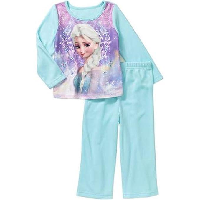 Disney Frozen Elsa para bebé Niña Manga Larga Pijamas de Pijama Set - Azul -