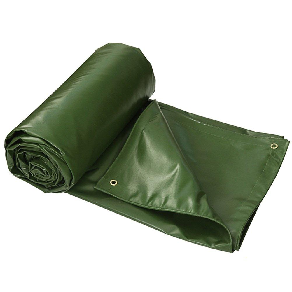 CHAOXIANG オーニング 両面 防水 不凍液 日焼け止め 老化防止 耐食性 厚い PVC 緑、 550g/m 2、 厚さ 0.6mm、 7サイズ 利用可能な、 カスタマイズ可能 (色 : 緑, サイズ さいず : 3x3m) B07D2YKBGX 3x3m|緑 緑 3x3m