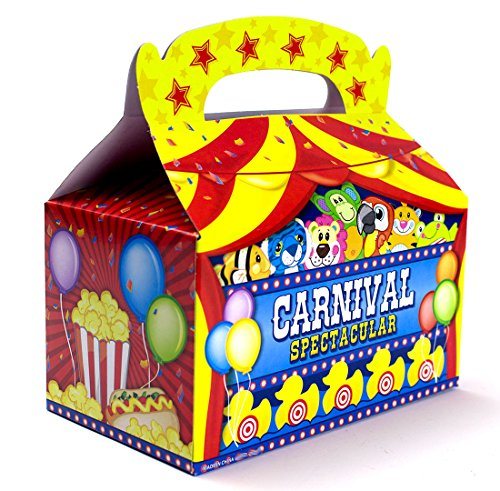 Carnival Consider Boxes Bundle by Imprints Plus Includes (12 Pack) Plus Non-Negotiable Million Dollar Bill (Carnival)