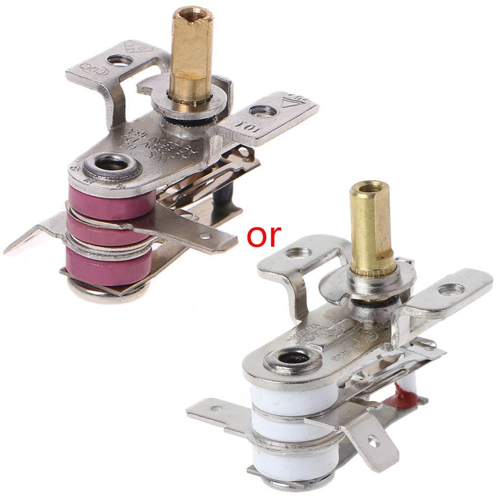 Anhui AC 250V 16A Adjustable 90 Celsius Temature Switch Bimetallic Heating Thermostat KDT-200
